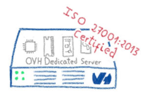 OVH Dedicated Servers are ISO 27001 certified
