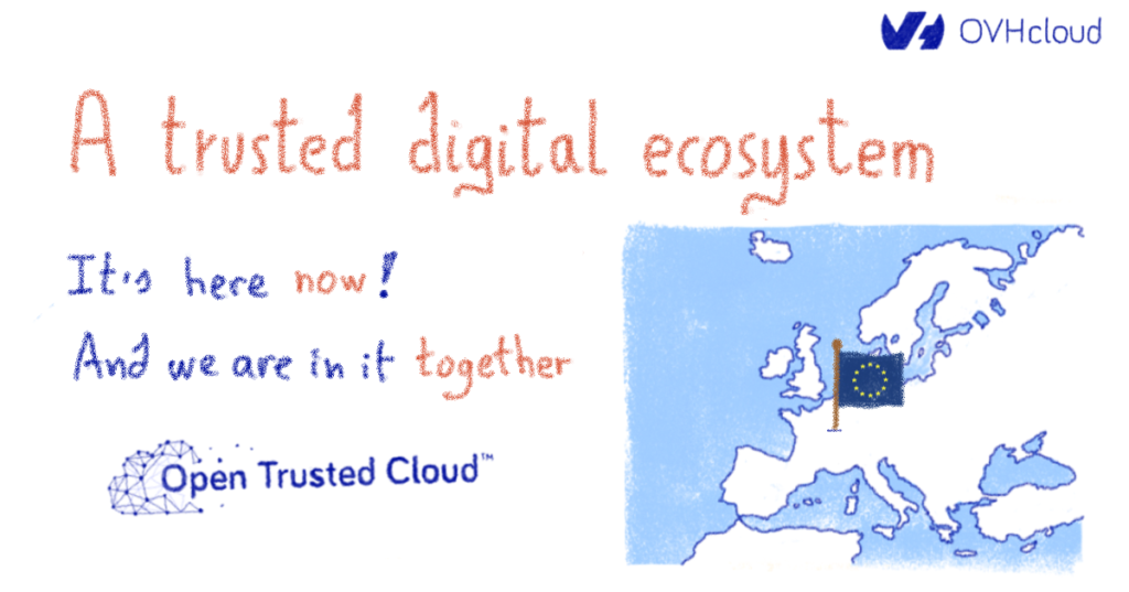 A trusted digital ecosystem. It's here now! And we're in it together.