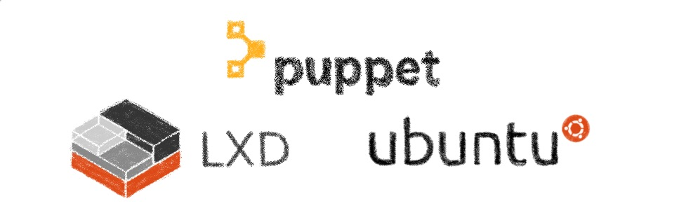 Automatic LXD setup with Puppet
