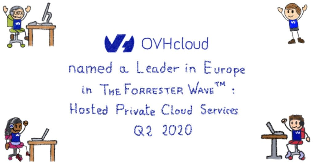 A leader in Europe in The Forrester Wave: Hosted Private Cloud Services In Europe, Q2 2020