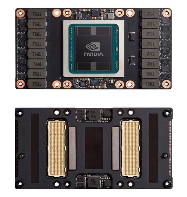 NVIDIA V100 with SXM2 design