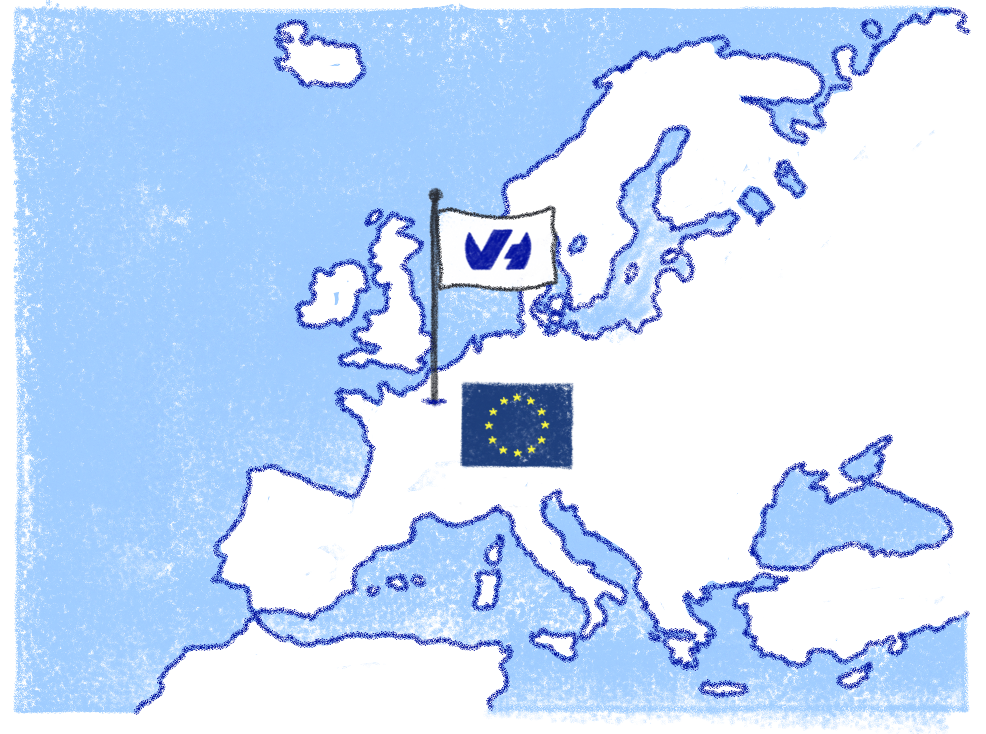 OVHcloud systematically favours to host its IT system within the European Union