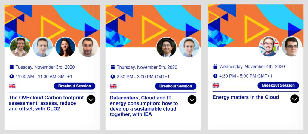 EcoEx 2020 - Energy dedicated sessions