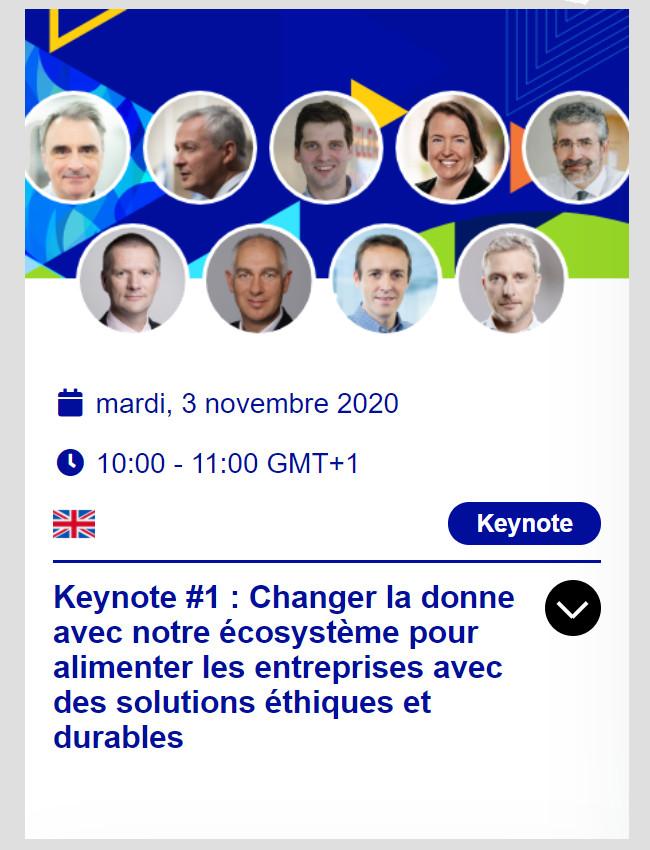 EcoEx2020 - Keynote #1