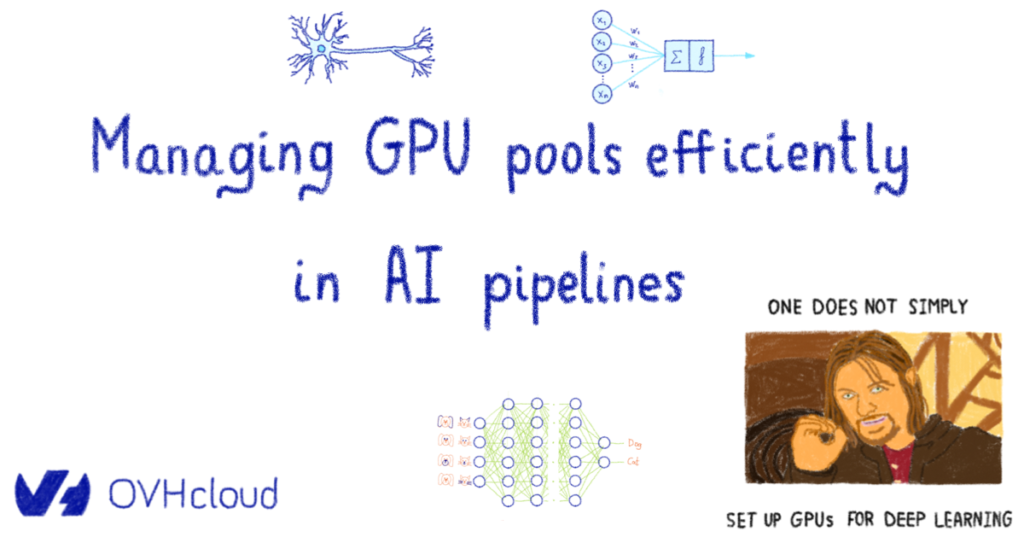 Managing GPU pools efficiently in AI pipelines