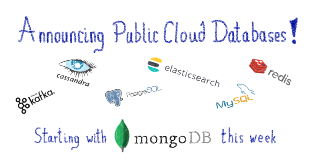 Announcing Public Cloud Databases! starting with MongoDB this week